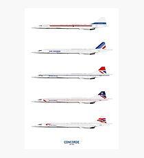 Concorde 1969 To 2003 Photographic Print