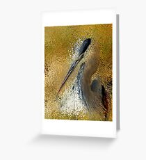Life In The Sunshine Bird Art Abstract Realism Greeting Card