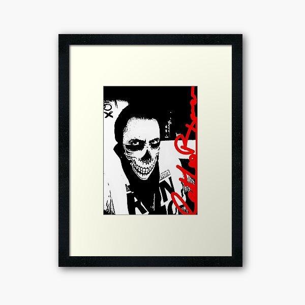 Bad Boy Kiwi Framed Art Print