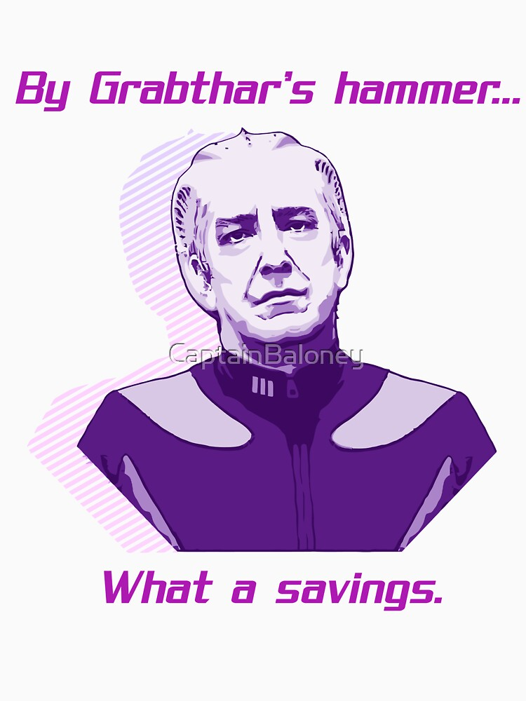 """""""What a savings."""" by CaptainBaloney"""