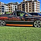 Holden Commodore Utility with Transformers wrap. by Ferenghi