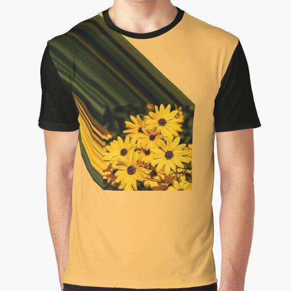 Shooting Flower Graphic T-Shirt