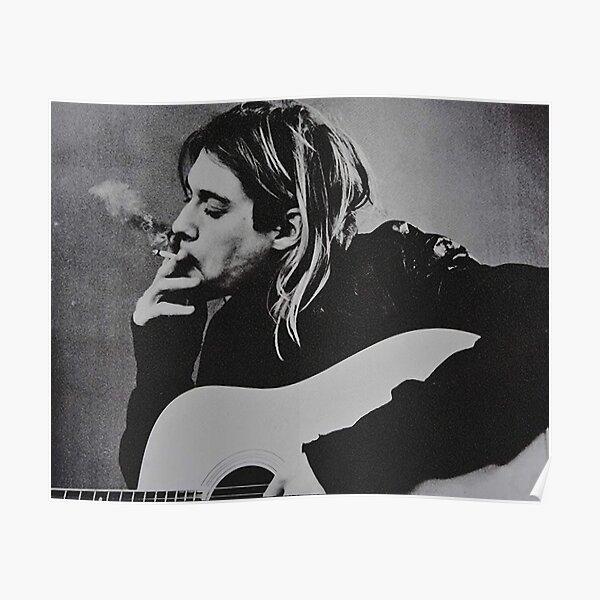KurCobain Smoke Poster