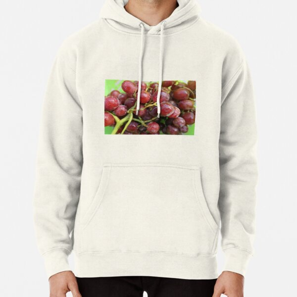 Grapes on the vine Pullover Hoodie