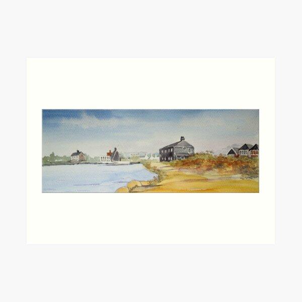 The Black House - Mudeford, Christchurch, Dorset Art Print