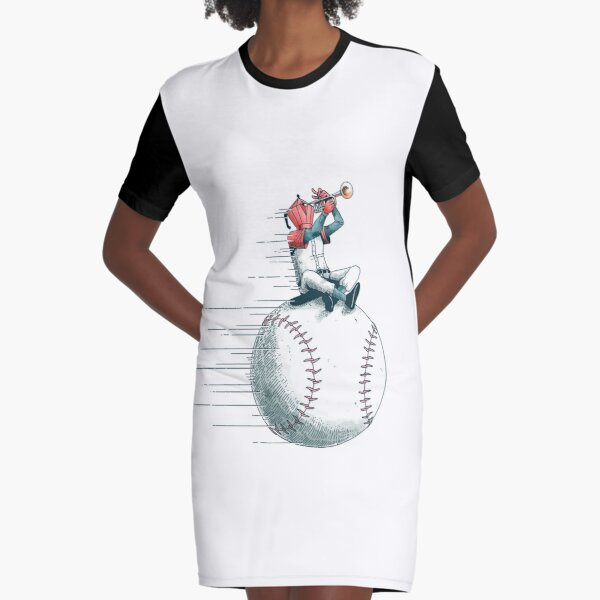 The ball conga Graphic T-Shirt Dress