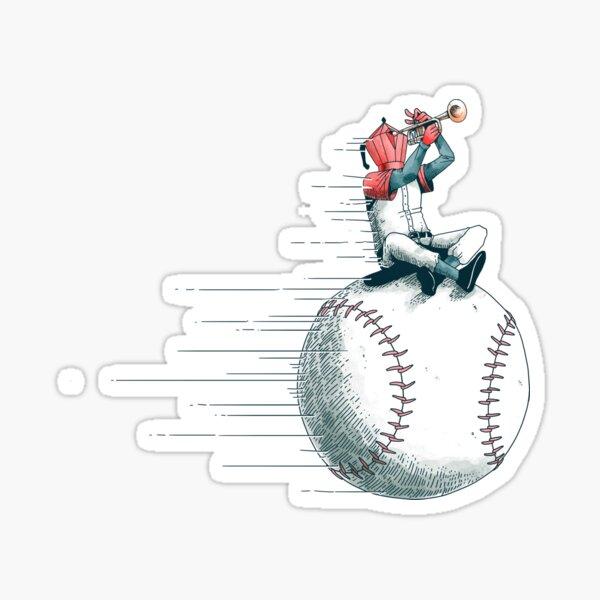 The ball conga Sticker