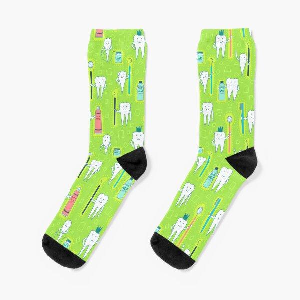 Dentalhygieniker Werkzeuge des Handels Socken