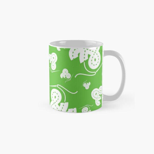 Stitched Ampersand - Lime Classic Mug
