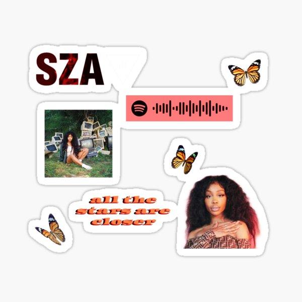 SZA Starter Pack  Sticker
