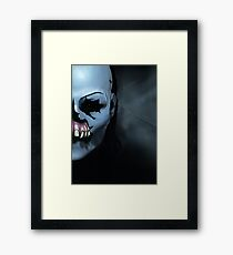 Until Dawn Masked Maniac Framed Print