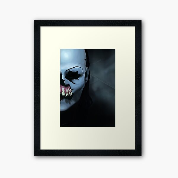 Until Dawn Masked Maniac Framed Art Print