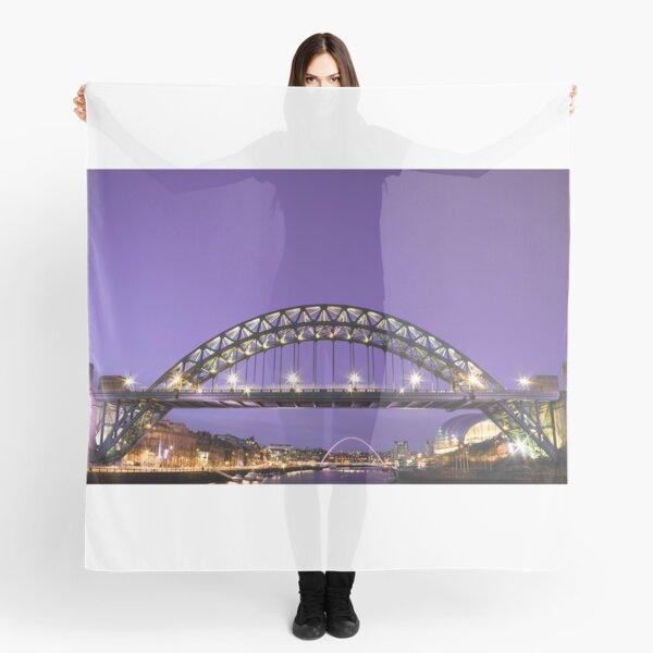 'Tyne Bridge at Night'  Scarf