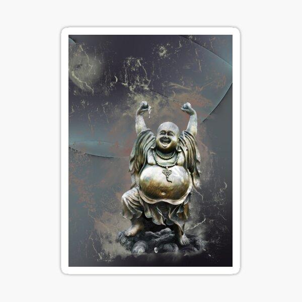 Little Laughing Buddha 4 Sticker