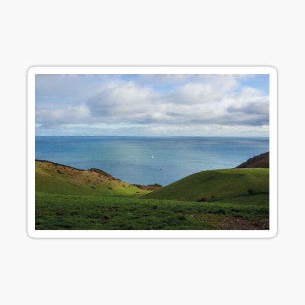 Ocean Beyond The Hills  Sticker