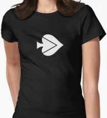 Spade Lovers Women's Fitted T-Shirt