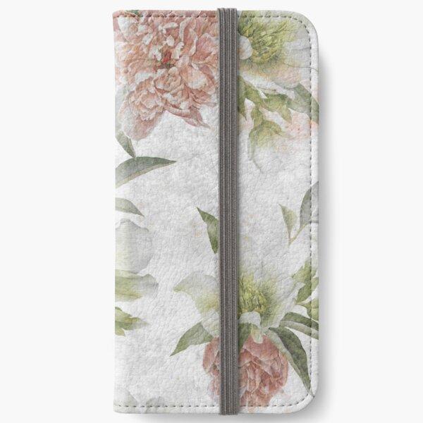 Vintage Flower iPhone Wallet