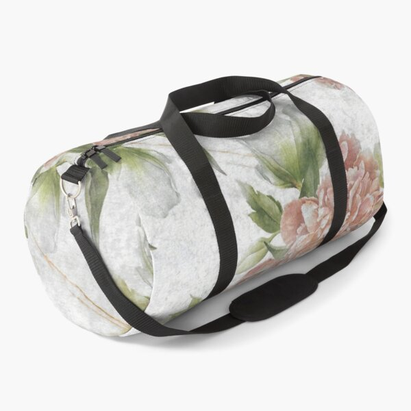Vintage Flower Duffle Bag