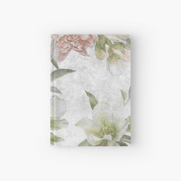 Vintage Flower Hardcover Journal