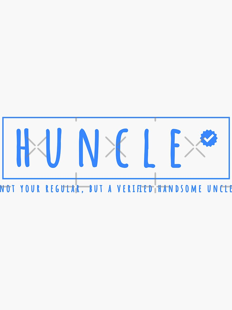 huncle verified handsome uncle by a-golden-spiral