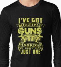 Multiple Guns Disorder Long Sleeve T-Shirt