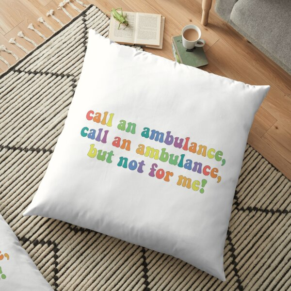 Ambulance Pillows Cushions Redbubble For a job as a tourist guide, but i wasn't successful. ambulance pillows cushions redbubble