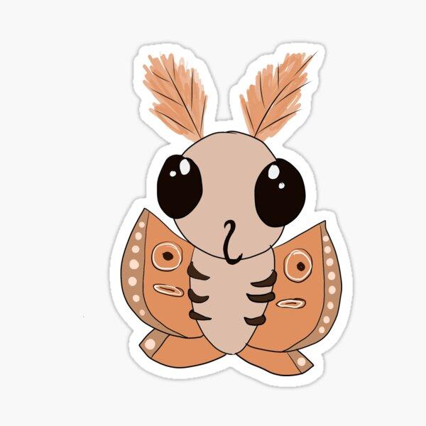 Cute moth Sticker