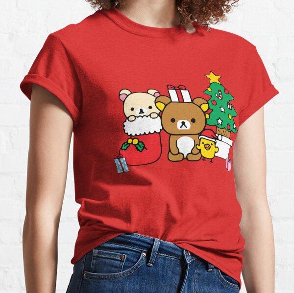 Rilakkuma. Merry Christmas. Rilakkuma Christmas Classic T-Shirt