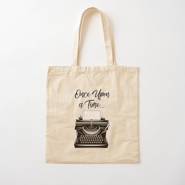 Once Upon a Time Cotton Tote Bag