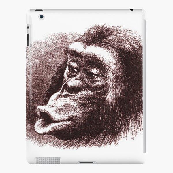 Chimpanzee from Charles Darwin Book iPad Snap Case
