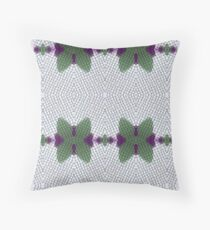 Green bows. Throw Pillow