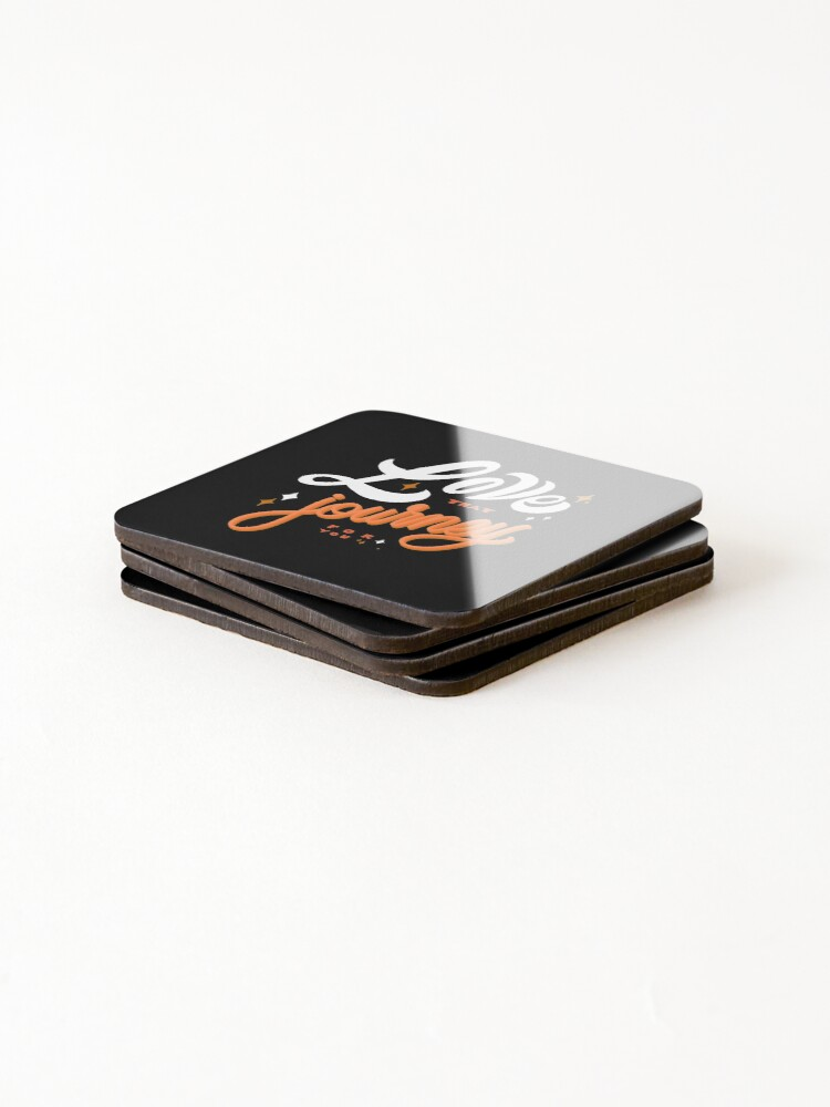 Alternate view of Love that journey for you  Coasters (Set of 4)