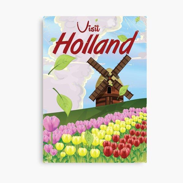Holland vintage travel poster Canvas Print