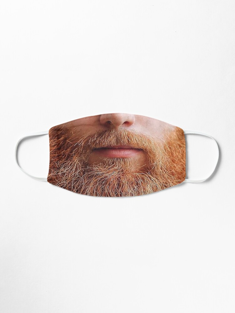 Alternate view of A luscious ginger beard -  Mask only Mask