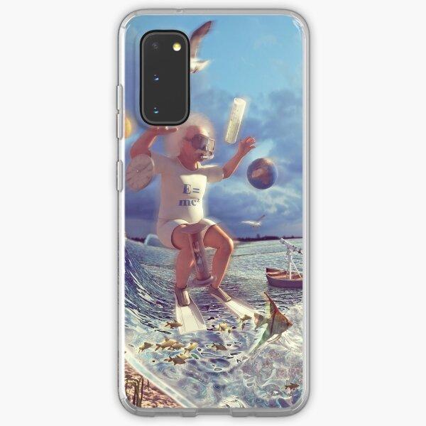 Aquatic Einstein Samsung Galaxy Soft Case