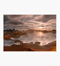 Fantasy Landscape - Computer Artwork Photographic Print