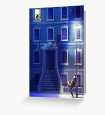 Blue Serenade Greeting Card