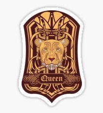 Lioness Blazon Sticker