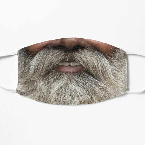 A lucious grey beard -  Mask only Mask