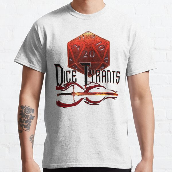 DiceTyrants Retro Logo Classic T-Shirt