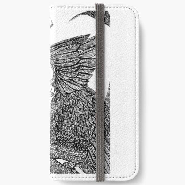 Bird King iPhone Wallet