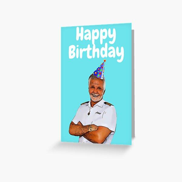 Captain Lee Happy Birthday  Greeting Card