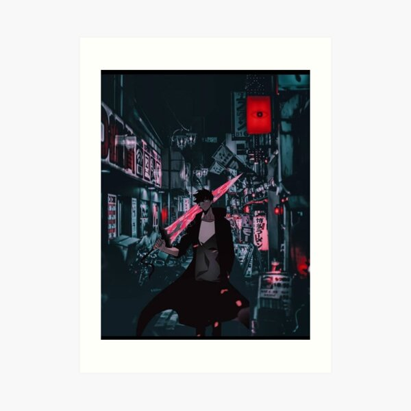 Sung jin woo solo leveling  Art Print