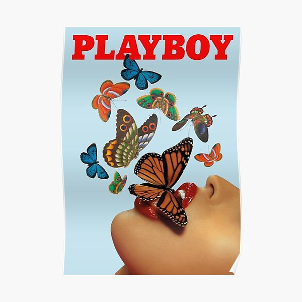 Playboy Butterfly Magazin Cover Poster