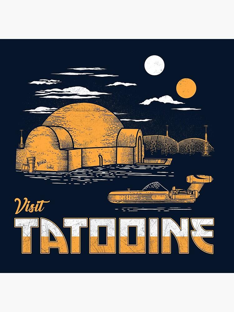 Visit Tatooine by therocketman