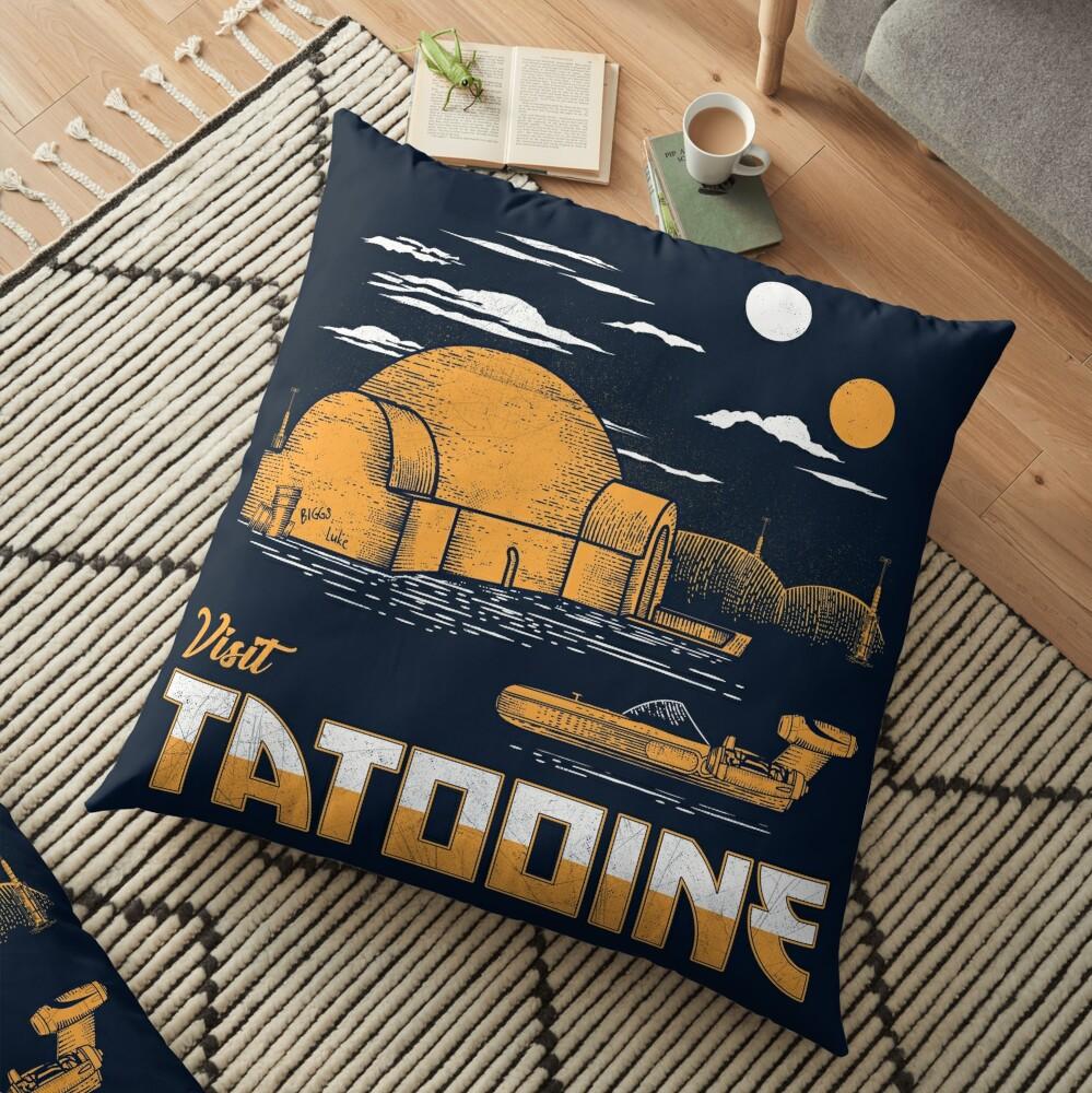 Visit Tatooine Floor Pillow