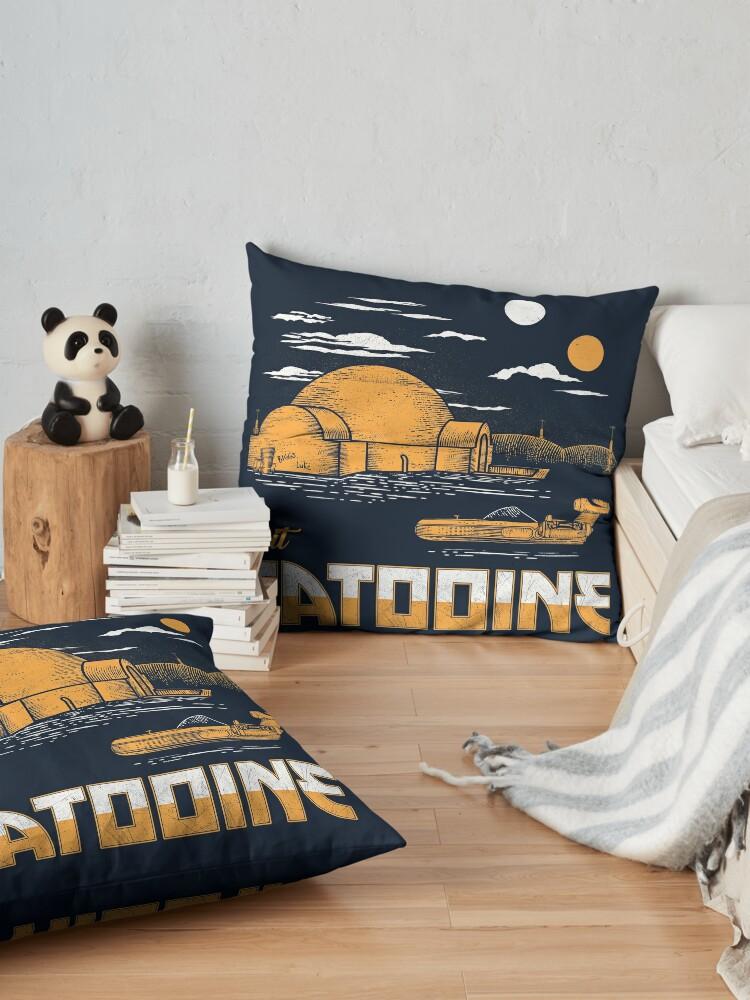 Alternate view of Visit Tatooine Floor Pillow