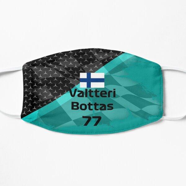Valtteri Bottas 2020 design simple nouvelles couleurs Masque sans plis