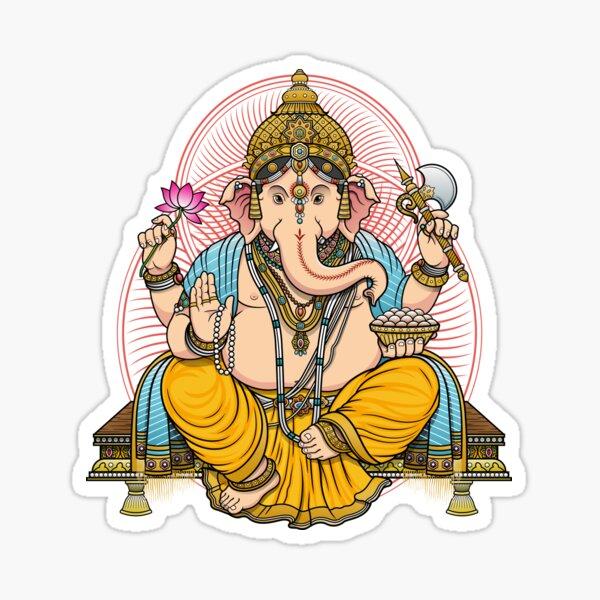 LORD GANESHA Sticker
