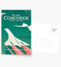 Concorde Vintage Holiday poster  Postcards